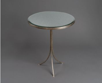 Rocco Silver Side Table for House Decoration