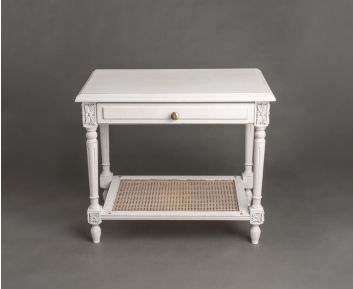 Stone Grey Side Table for House Decoration