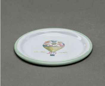 Multi-coloured Small Round Tray Apt for Table Setting