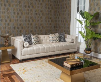 New Melody 3-Seater Sofa in Beige to Enhance Home Decor