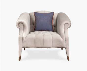 Roary 1-Seater Sofa in Grey to Complete Home Furniture