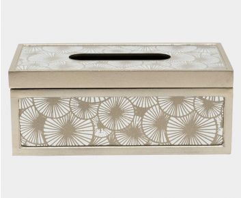 Adorable Champagne Tissue Box for House Decoration