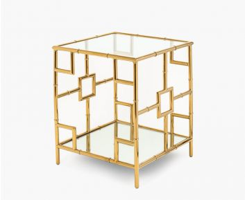 Tito End Table Gold