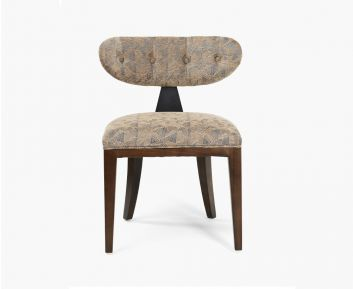 Whelan chair blue-brown