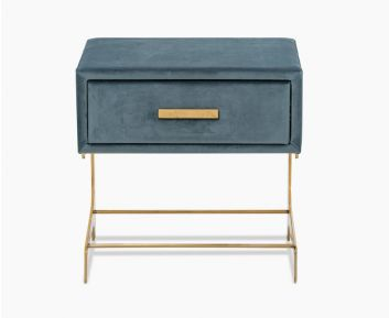 Xena Night Stand Grey-teal