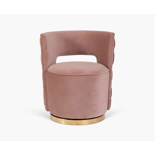 Swan Casual Chair in Pink for House Decoration
